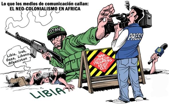 Libia el genocidio que la prensa calla